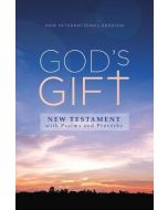 NIV  God's Gift New Testament with Psalms and Proverbs  Pocket-Sized  Paperback  Comfort Print