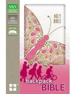 NIrV Backpack Ltrlook-Flexcvr, Pink Butterfly,Cft