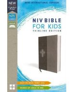 NIV Bible For Kids Thinline LeatherSoft-Gray