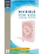 NIV Bible For Kids Thinline Flexcover-Pink/Gold