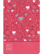 NIrV Bible for Kid Thinline Large Pr LtrSoft-Pink