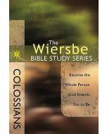 Wiersbe Bible Study Sr-Colossians