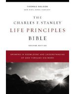 NKJV Charles F. Stanley Life Principles Bible 2nd Ed. Hardcover Comfort Print