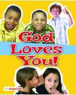 God Loves You Booklet-Pack/20