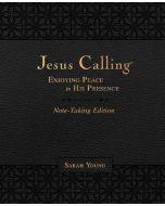 Jesus Calling Note-Taking Edn LtrSoft-Black