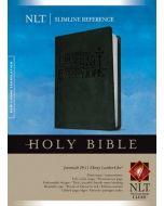 NLT Slimline Reference Bible  Ebony