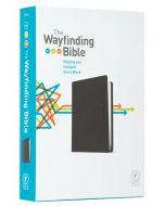 NLT Wayfinding Bible, The, Black LeatherLike