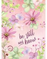 Journal-Be Still and Know (Hardcover)