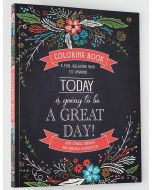 Coloring Book-Today is Going be Great Day, CLR001