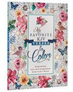 Coloring Book-My Favorite KJV Verses To Color, CLR023