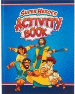 Super Heroes Activity Book-Bible Fun