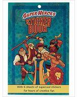 Sticker Book Super Heroes