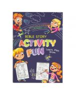 Book Softcover Bible Story Activity Fun