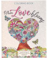 Coloring Book-Where Love Blooms CLR046