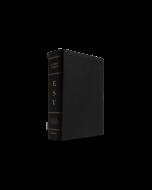 ESV Study Bible, Large Print, Genuine Leather, Black