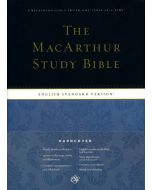 ESV MacArthur Study Bible (Hard Cover Index)