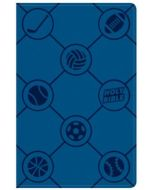 CSB Kids Bible Leather Touch-Sports, Blue