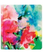 NLT Inspire PRAYER/Journaling LtrLike-Joyful, Gold