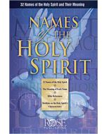 Names Of The Holy Spirit-Pamphlet