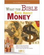What The Bible Says About Money-Pamphlet