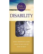 Help a Friend: Disability-Pamphlet