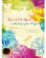 Journal-She Is Clothed With Strength & Dignity