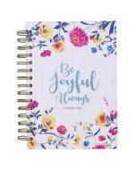 Journal: Wirebound-Be Joyful Always
