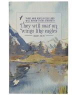 Journal: Flexcover-They will Soar on Wings like Eagles , Isaiah 40:31, JL538