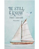 Journal: Flexcover-Be Still & Know that I Am God,  Psalm 46:10, JL537