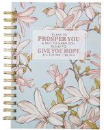 Journal: Wirebound-Plans to Prosper, Jeremiah 29:11, Large, JLW107