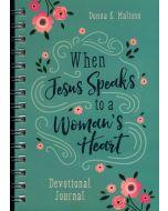 Journal with Devotion-When Jesus Speaks to a Woman's Heart