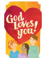 Tracts-God Loves You!  25/Pack
