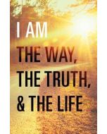 Tracts-I Am the Way, the Truth/Life,  25/Pack