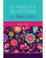 3-Minute Devotions for Teen Girls Journal