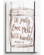 Journal-Do Justly, Love Mercy, Walk Humbly #60607