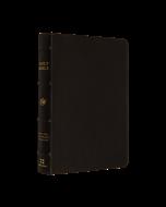 ESV Large Print Compact Bible Buffalo Ltr-Dk/Brown