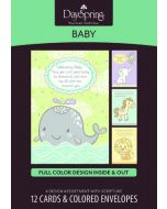 Boxed Cards-Baby, Congratulations (77488)