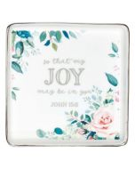 That My Joy May Be In You, Ceramic Trinket Tray