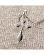 Cross Pendant - DS0397 (Double Edged Sword)