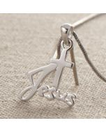Pendant - DN0009 (Jesus and the Cross)