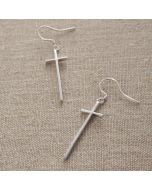 Earring - ES0001 (Long Cross)