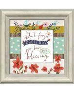 Framed Art-Don't Forget Each Day/Blessing  #21004