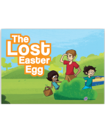 Lost Easter Egg Pop-Up Tract-10/Pk #3201