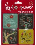 Magnetic Set- Love Grows (set/4-MGS017)