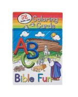 Coloring Cards for Kids - ABC Bible Fun