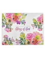 Glory of God (Large Glass Cutting Board)