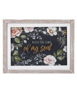 Plaque/Framed-Bless The Lord Oh My Soul (PLA032)