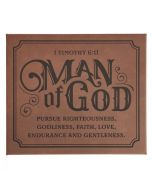 Plaque-Man Of God (PLA043)