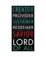 Plaque: Creator, Provider, Sustainer