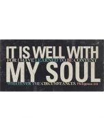 Plaque: TableTop-It Is Well With My Soul